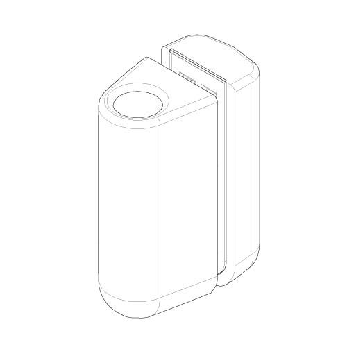 Aqualux Spares Fittings Pack Hinges & Fittings SFP033